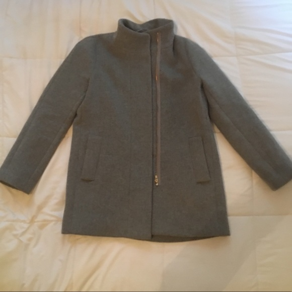 J. Crew Jackets & Blazers - J. Crew Cocoon Coat Medium in Gray